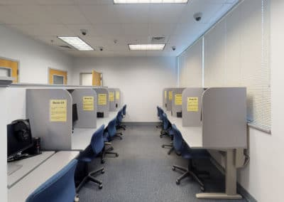 Disability Resource Office testing services in Holmes Hall