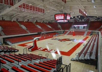 Reynolds Coliseum basketball court