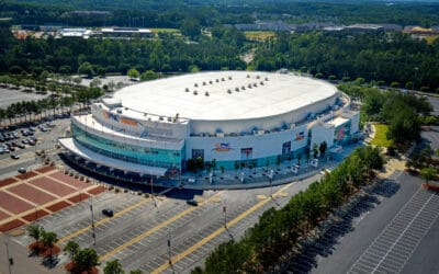 Athletics at PNC Arena
